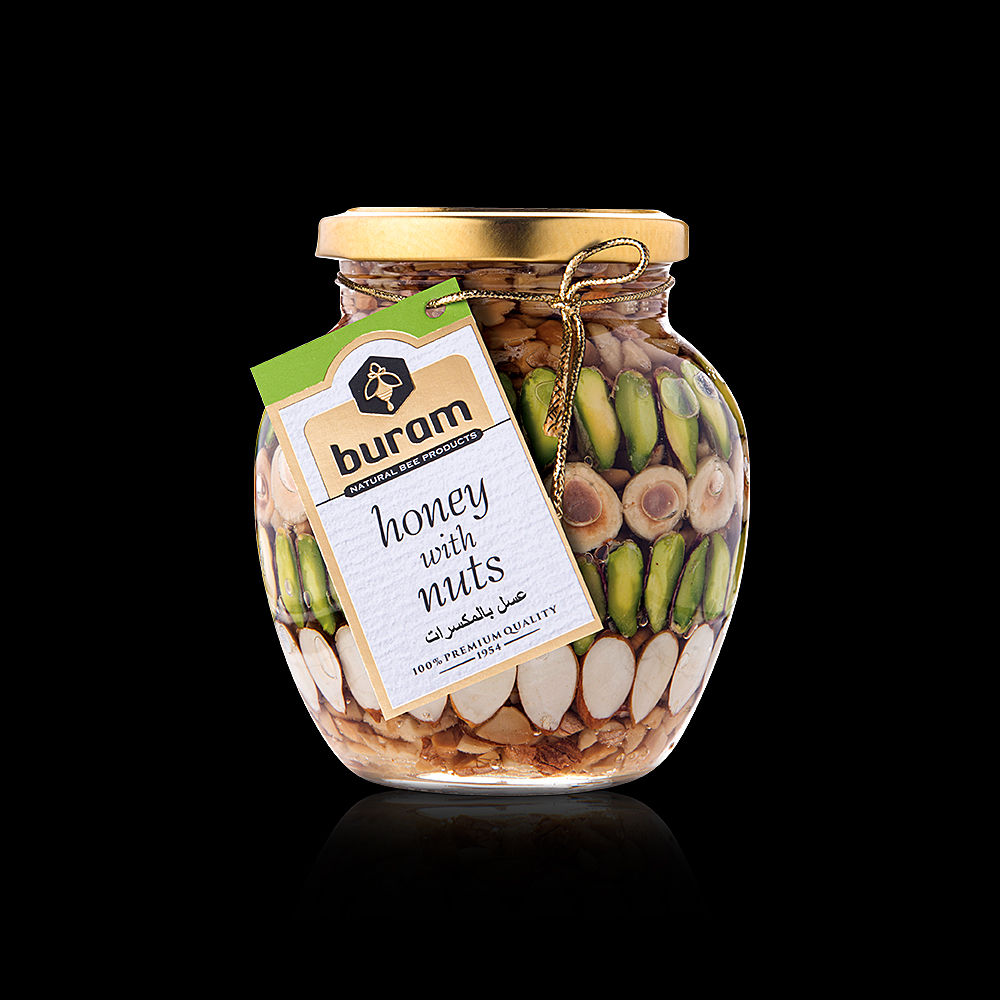 Honey With Nuts 450gr.